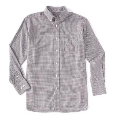 ダニエル クレミュ メンズ シャツ トップス Daniel Cremieux Signature Non-Iron Large Check Long-Sleeve Woven Shirt