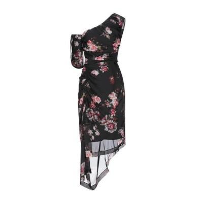 PREEN by THORNTON BREGAZZI シルクドレス ファッション  レディースファッション  ドレス、ブライダル  パーティドレス ブラック
