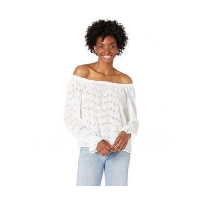 Sanctuary サンクチュアリ レディース 女性用 ファッション ブラウス The Blooming Top - White