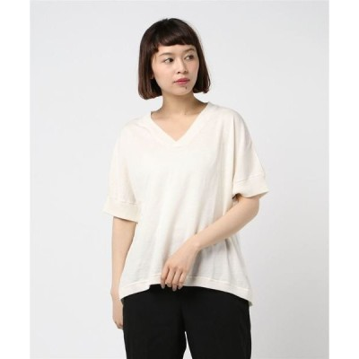 tシャツ Tシャツ 80/1ラミー×60/1綿撚杢天竺半袖VP/O