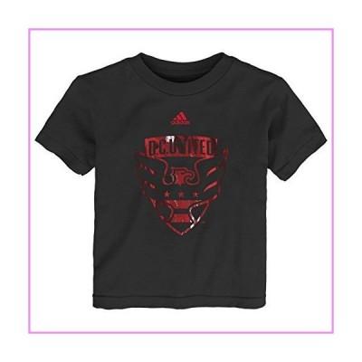 【送料無料】MLS D.C. United Boys -War Paint Logo Short sleeve Tee, Black, 3T【並行輸入品】