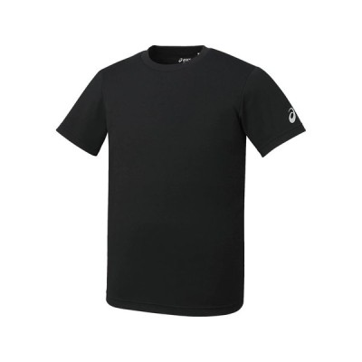 (アシックス) asics トレーニング Tシャツ XA6188 90 ブラック 130