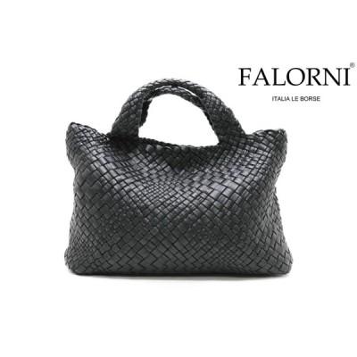 ファロルニ / FALORNI バッグ f1059bk ダブルハンドルバッグ ブラック イタリア製