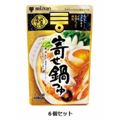Mizkan 〆まで美味しい寄せ鍋つゆ ストレートタイプ 750g(3~4人前)×6個