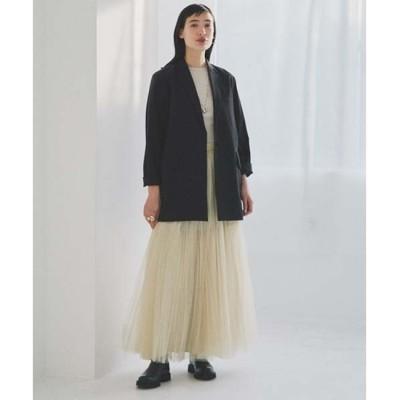 【スタイリング/styling/】 チュールプリーツスカート