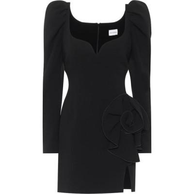 マグダ ブトリム Magda Butrym レディース パーティードレス ワンピース・ドレス wool-blend minidress Black