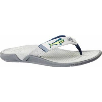 コロンビア メンズ サンダル シューズ Columbia Men's PFG Fish Flip Flip Flops Steam/Carbon