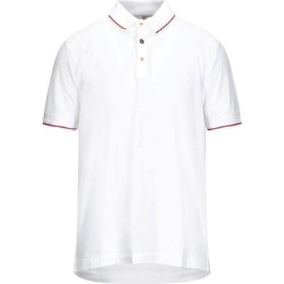 ヘリテイジ HERITAGE メンズ ポロシャツ トップス Polo Shirt White