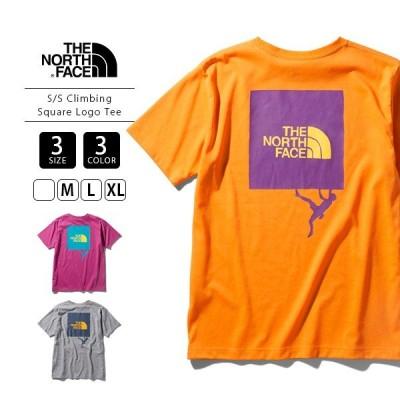 ノースフェイス Tシャツ メンズ レディース 2020 THE NORTH FACE Tシャツ S/S Climbing Square Logo Tee NT32059
