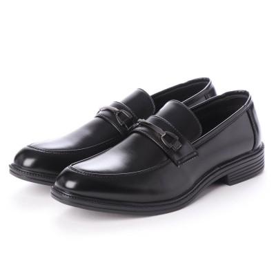 ブラッチャーノ Bracciano ビジネスシューズ メンズ 歩きやすい 片足約200g(26cm)軽量消臭機能付き 紳士靴(BLACK)