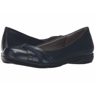LifeStride ライフストライド レディース 女性用 シューズ 靴 フラット Abigail Navy【送料無料】