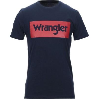 ラングラー WRANGLER メンズ Tシャツ トップス T-Shirt Dark blue