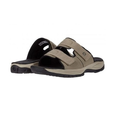 Dunham ダナム メンズ 男性用 シューズ 靴 サンダル Newport Slide Water Friendly - Taupe Grey