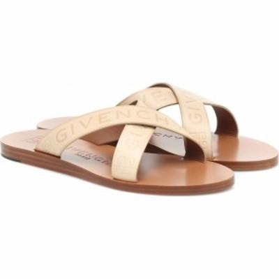ジバンシー Givenchy レディース サンダル・ミュール シューズ・靴 Logo leather sandals Desert