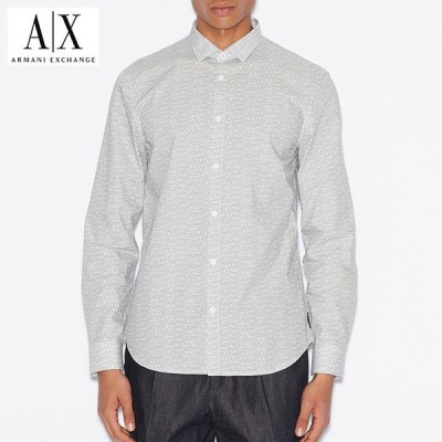 アルマーニエクスチェンジ メンズ  長袖シャツ  A/X  ARMANI EXCHANGE USA正規品 ax705