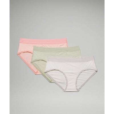 ルルレモン lululemon レディース ショーツのみ 3点セット UnderEase Mid Rise Hipster Underwear 3 Pack