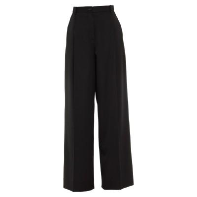 NINA RICCI パンツ ブラック 38 ウール 100% / レーヨン / コットン / ポリエステル パンツ