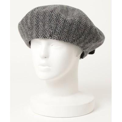 BEAMS MEN / HICOSAKA / Basque Beret MEN 帽子 > ハンチング/ベレー帽