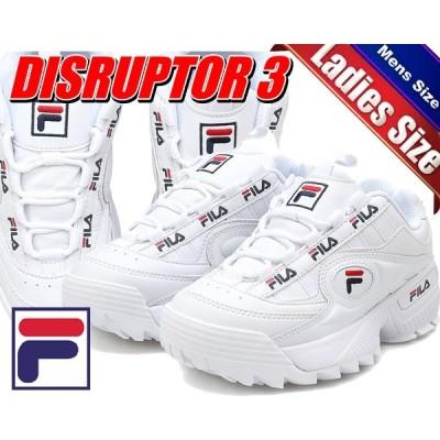 フィラ ディスラプター 3 FILA DISRUPTOR 3 FORMATION white DAD SHOE ダッド シューズ 厚底 スニーカー メンズ レディース ウィメンズ ホワイト ガールズ