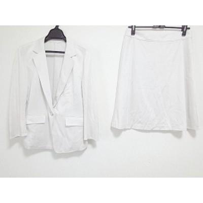 ヴァンドゥ オクトーブル 22OCTOBRE スカートスーツ サイズ40 M レディース ベージュ【中古】20190816