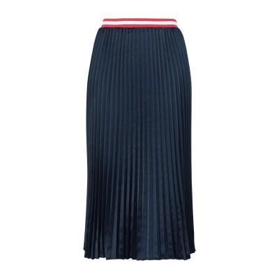 TOMMY JEANS 7分丈スカート ダークブルー S ポリエステル 100% 7分丈スカート