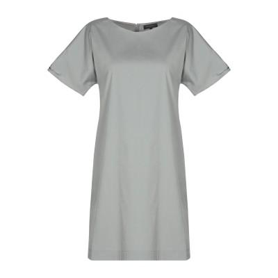 ANTONELLI ミニワンピース&ドレス グレー 40 コットン 80% / ナイロン 16% / ポリウレタン 4% ミニワンピース&ドレス