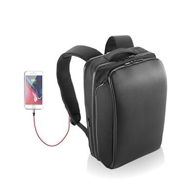エレコム ビジネスバッグ リュック バックパック Ruminant 撥水 大容量 4気室 USB充電ポート付 13.3インチPC/15.6インチPC/