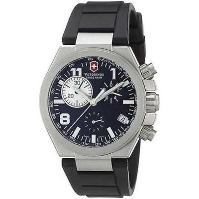腕時計 ヴィクトリノックススイスアーミー Victorinox Swiss Army メンズ 241157 'Convoy' クロノグラフ ブラック ラバー 腕時計
