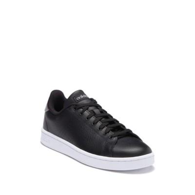 アディダス メンズ スニーカー シューズ Advantage Leather Sneaker CBLACK/CBL
