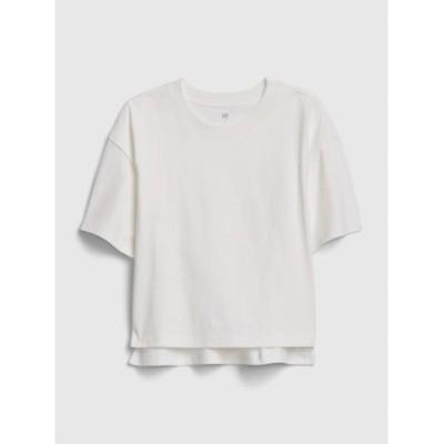 オーバーサイズボクシーtシャツ (キッズ)