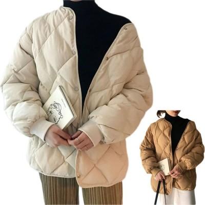 ジャケット コート レディース 中綿ジャケット ダウンジャケット アウター ライトアウター 羽織り 軽量 秋冬 大きめ カジュアル ファッション