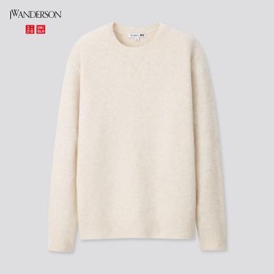 スフレヤーンクルーネックセーター(長袖)セットアップ可能