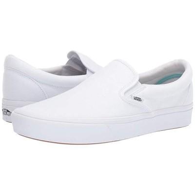 バンズ ComfyCush Slip-On メンズ スニーカー 靴 シューズ (Classic)True White/True White