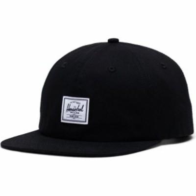 ハーシェル サプライ HERSCHEL SUPPLY CO. メンズ 帽子 Whaler Twill Hat Black