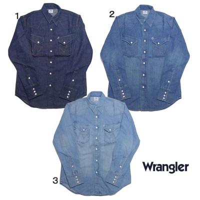 ラングラー ウエスタンシャツ デニム シャツ BLUE BELL  Wrangler 27MW メンズ WM1725