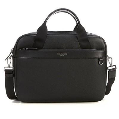 マイケルコース 2WAYバッグ Michael Michael Kors  Men's Greyson Slim Leather Briefcase (Black) メンズ レザー スリム ブリーフケース (ブラック)