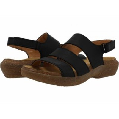El Naturalista エルナチュラリスタ レディース 女性用 シューズ 靴 サンダル Wakatiwai N5702 Black【送料無料】