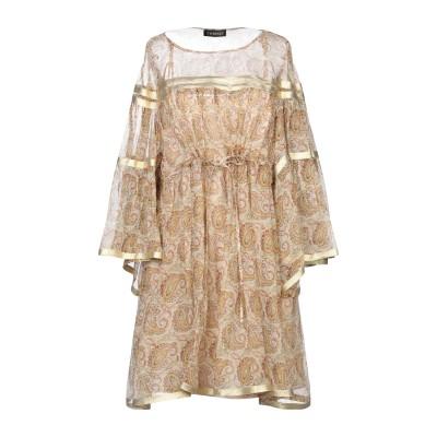 ツインセット シモーナ バルビエリ TWINSET ミニワンピース&ドレス ベージュ 40 ポリエステル 100% ミニワンピース&ドレス