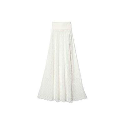 [チャコット] アイレットニットロングスカート 256320-0417-01 レディース オフホワイト 日本 M (日本サイズM相当)