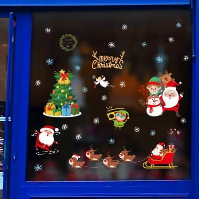 クリスマスウォールステッカー 店舗装飾 クリスマス飾り