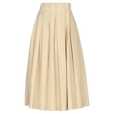 ジャッカ JUCCA 7分丈スカート ベージュ 44 コットン 100% 7分丈スカート