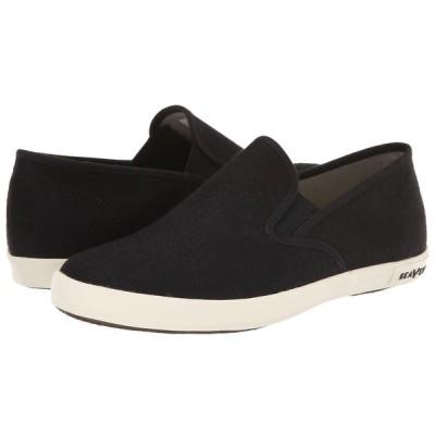 シービーズ SeaVees レディース スリッポン・フラット シューズ・靴 Baja Slip On Classic Black