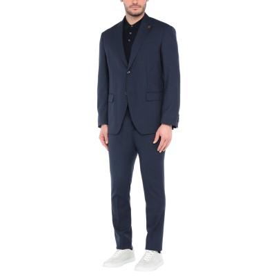 GIACCHE' スーツ ダークブルー 58 バージンウール 100% スーツ