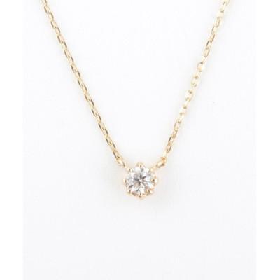 【ジュエッテ/Jouete】 K10 ダイヤモンド ネックレス