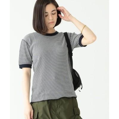 tシャツ Tシャツ Healthknit × BEAMS BOY / ワッフル ボーダー Tシャツ
