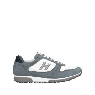 ホーガン HOGAN スニーカー&テニスシューズ(ローカット) 鉛色 8 革 / 紡績繊維 スニーカー&テニスシューズ(ローカット)
