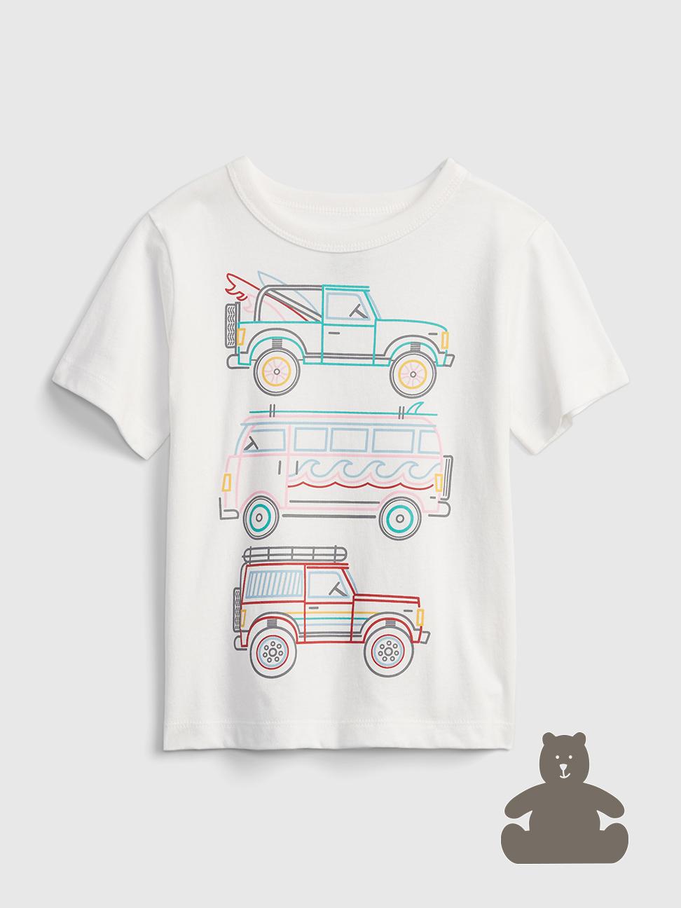 幼童 布萊納系列 童趣印花短袖T恤