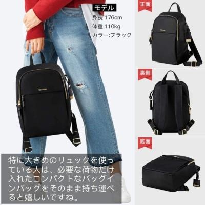女性のためのコンピュータバックパック大容量防水ナイロンリュックサック15.6インチノートブック軽量ファッションバッグ