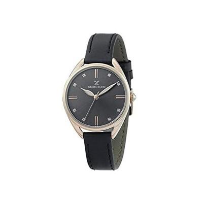 【新品】Daniel Klein Womens Wrist Watch (DK12371-7) - Leather Strap - 34mm Analog W