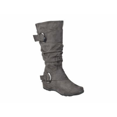 ジャーニーコレクション ブーツ&レインブーツ シューズ レディース Jester-01 Boot - Wide Calf Grey